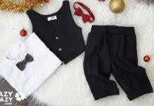 Ubranka Świąteczne dla niemowlaka