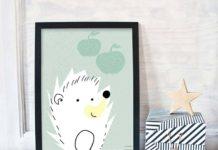 Dekoracje do pokoju dziecka – może plakat?