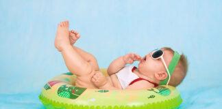 Jak ubierać noworodka latem