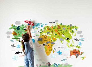 Dlaczego warto wybrać naklejki jako dekorację do pokoju dziecka